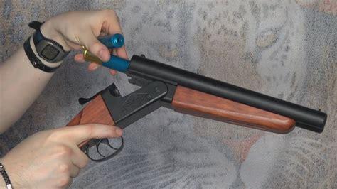 Airsoft Shotgun Double Barrel Wa Shan 6mm Version Khanseb