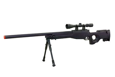 Airsoft Sniper Rifle Shoot High Up