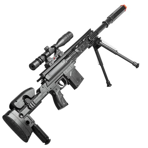 Airsoft Sniper Spring Rifle Gun With Scope