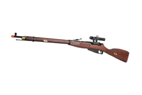 Airsoft Spring Mosin Nagant With Scope