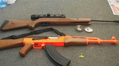 Airsoft Vs Air Rifle