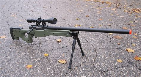 Airsoft Zk51 Bolt Action Sniper Rifle