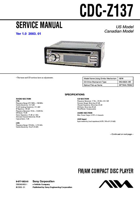 aiwa cdc z137 pdf manual