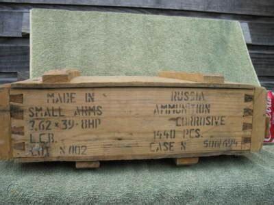 Ak 47 Ammo Box Vintage