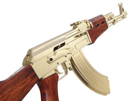 Ak 47 Model Gun And Orange Ak 47 Magazine