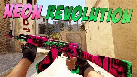 Ak 47 Neon Revolution Ft Opskins