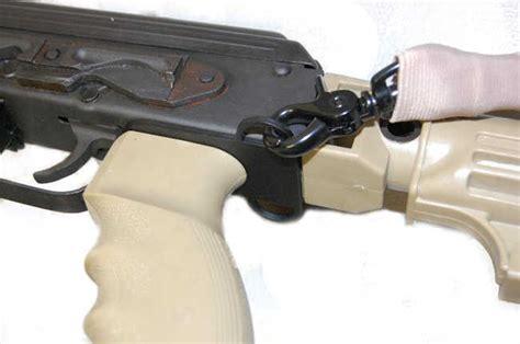 Ak Pistol Grip Sling Plate