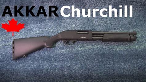 Akkar Churchill Short Barrel Shotgun