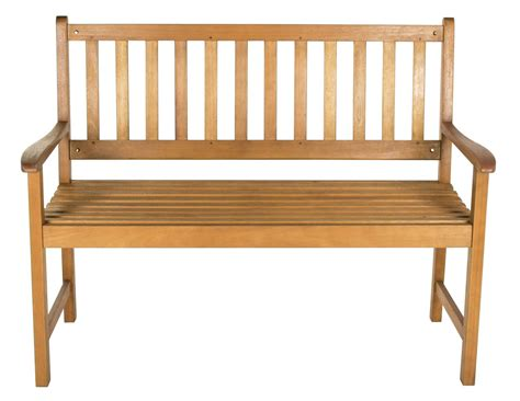 aland wooden bench Image