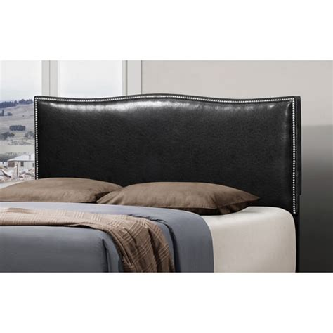 Alaya Button Detailed Curved Upholstered Panel Headboard