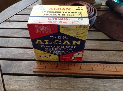 Alcan Incorporated Shotgun Shells