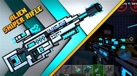 Alien Sniper Rifle Pixel Gun