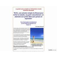 Alimentation crue raw food diet in french that works