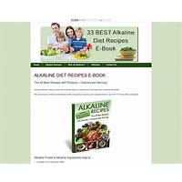 Guide to alkaline diet recipes the 33 best recipes with pictures & calories