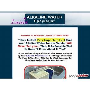 Alkaline water specialist com everything you need to know about ionized alkaline water everything online tutorial