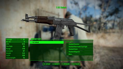 All Ammo Types In Fallout 4