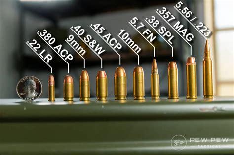 All Calibers Of Handguns