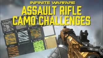 All Sniper Rifle Camo Challenges On Infinite Warfare