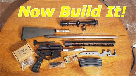All The Parts To Build An Ar And Ar 15 Lower Parts Kit Identification