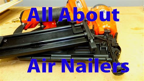 All about air nailers for woodworking woodworking for beginners 16 Image