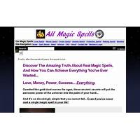 All magic spells (tm) : top converting magic spell ecommerce store secret