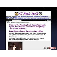 All magic spells (tm) : top converting magic spell ecommerce store step by step