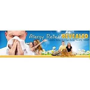 Allergy relief revealed methods