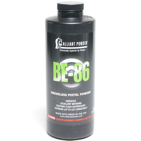 Alliant BE-86 At Reloading Unlimited Inc