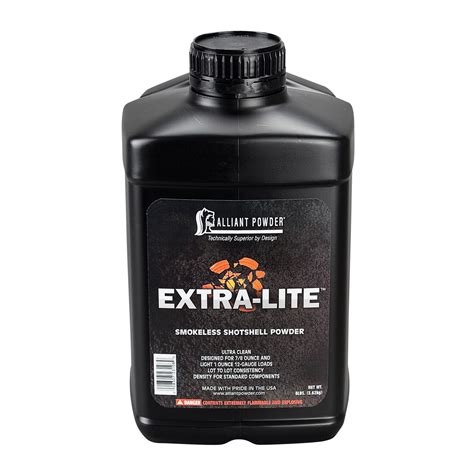 Alliant Extra-Lite Powder 1 Can -ballisticproducts Com
