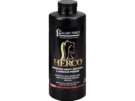 Alliant Herco Smokeless Gun Powder 1 Lb - Midwayusa Com