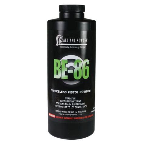 Alliant Powder Be 86 1lb Can Sportsman S Warehouse