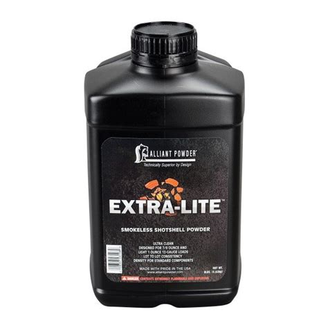 Alliant Powder Goes Light With Extra-Lite Shotshell Powder
