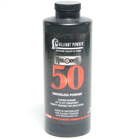 Alliant Reloder 50 Powder 1 Can -ballisticproducts Com