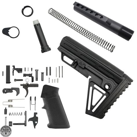 Alpha Lower Build Kit For Ar 15 With Di Grip