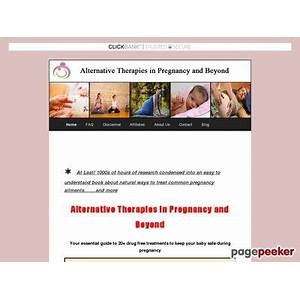 Best reviews of alternative therapies in pregnancy you're essential guide to 20 drug free treatments to keep your baby safe during pregnancy