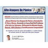 Coupon for alto ataques de panico y ansiedad sin opt in