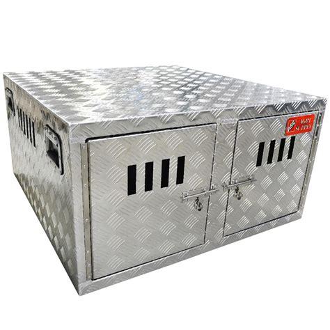 Aluminum Dog Box Tractor Supply