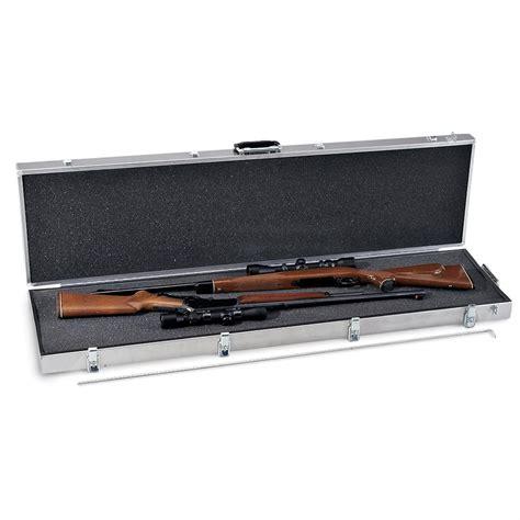 Aluminum Double Scoped Rifle Case
