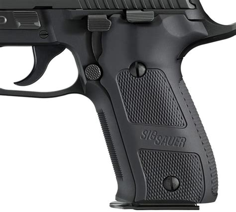 Sig-Sauer Aluminum Grips For Sig Sauer P226.
