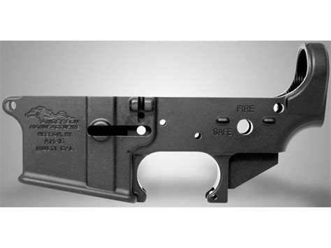Am15 Stripped Lower Receiver