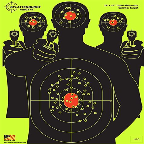 Amazon Com Splatterburst Targets - 12 X18 Inch
