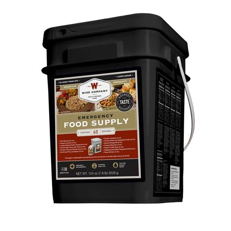 Amazon Com Wise Company 60 Serving Entr E Only Grab And