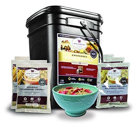 Amazon Com Wise Company Emergency Freeze Dried Breakfast