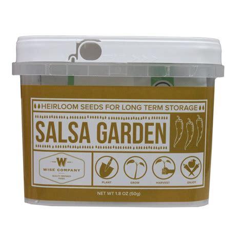 Amazon Com Wise Foods Salsa Heirloom Seed Bucket