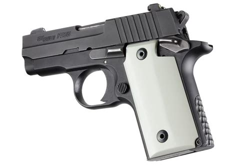 Sig-Sauer Amazon Hogue Grips Pearl Grips For Sig Sauer P238.