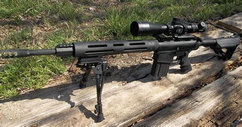 American 308 Assault Rifle