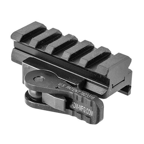 American Defense Manufacturing Quickrelease Accessory Mount Picatinny Qd Mount 5lug