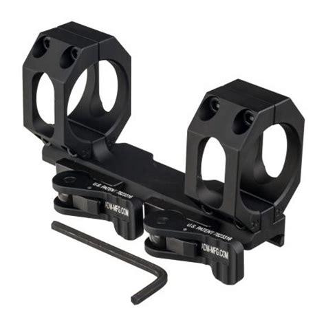 American Defense Manufacturing Reconsl Bolt Action Scope Mounts 30mm 0 Moa Bolt Action Mount Black