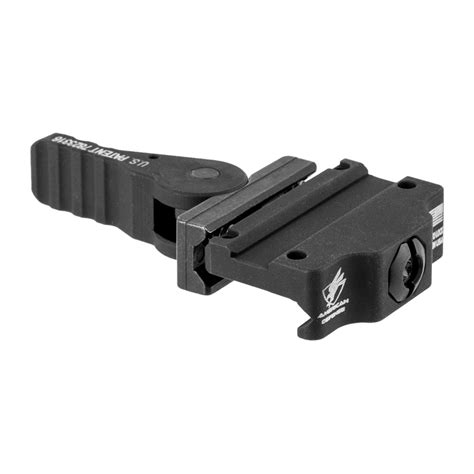 American Defense Manufacturing Trijicon Mro Low Mounts Mro Low Mount Tactical Lever Black