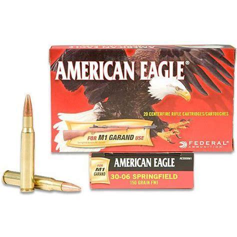American Eagle 3006 Springfield 150gr Fmjbt Ammo 20